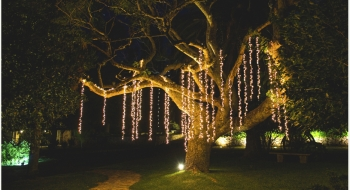 Arbol con luces destellos - NOI Decoraciones